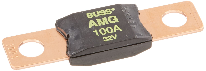 100 Amp Rating Cooper Bussmann BUSAMG100 Bussmann AMG-100 AMG High-Current Stud Mount Fuse
