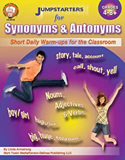 Amazon com: Synonyms and Antonyms: Vocabulary for the C E M