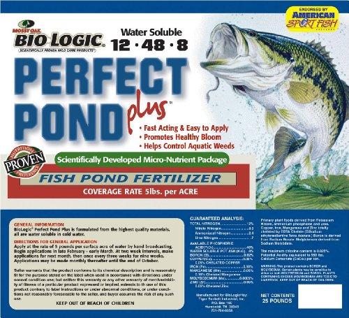 BioLogic Perfect Pond Plus Feeder, 25-Pound (Pond Perfect)