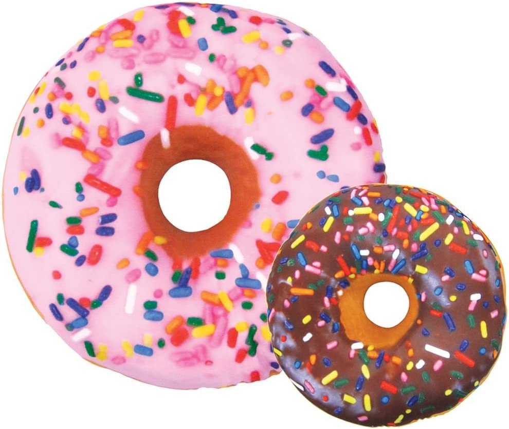 Amazon.com: iscream Sugar-riffic Almohada con forma de Donut ...