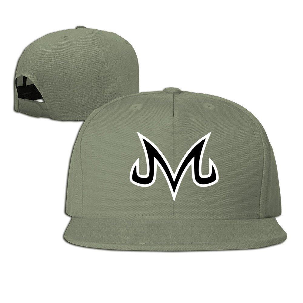 Hittings Vegeta Majin Dragon Ball Z Plain Adjustable Snapback Hat Baseball cap Unisex Navy Forest Green