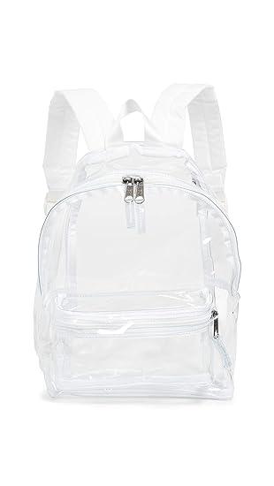 heet product gratis verzending online te koop Amazon.com | Eastpak Women's Orbit Backpack, Glass, Clear ...
