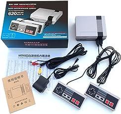 Actualizar la mini versión de máquina de color rojo y blanco de la consola de videojuegos de juego en casa 8 de acogida incorporado 620 juego clásico AV línea 1,5 metros