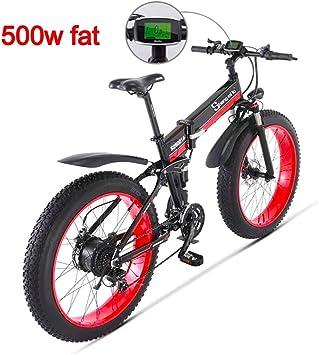 Unbekannt 500W 26 Pulgadas Bicicleta eléctrica de los Hombres 48V ...