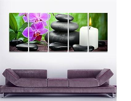 Ufficio Zen Zen : Zen quadro moderno intelaiato cm stampa su tela bambu