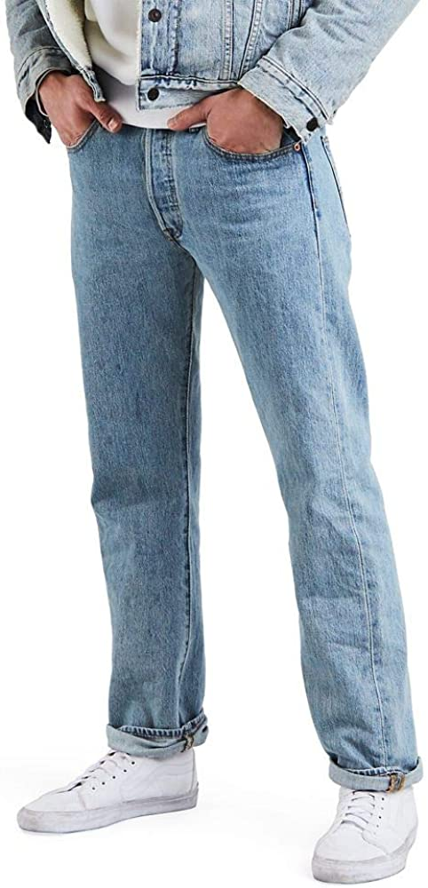 Men's Vintage Pants, Trousers, Jeans, Overalls Levis Mens 501 Original Fit Jeans $79.50 AT vintagedancer.com