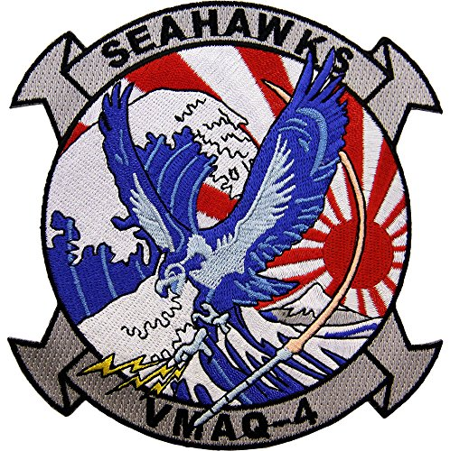 Marine Tactical Electronic Warfare Squadron VMAQ-4 Patch Full