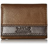 Levi's Men's 100% Handcrafted Genuine Leather Trifold Wallet, Brown, One Size