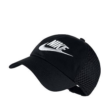 Nike Sportswear Heritage 86 Baseball Cap (Womens) (OSFA, Black/White)
