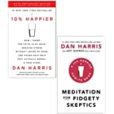 Dan Harris Collection 2 Books Set (10% Happier How I Tamed The Voice In My Head, Meditation For Fidgety Skeptics)
