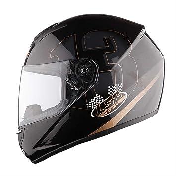LS2 FF351 póquer Casco Integral negro Talla:XL (61/62)