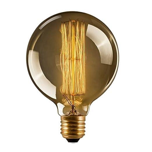 62 opinioni per CMYK Vintage Grande lampadina Globo con gabbia di luce filamento della lampadina