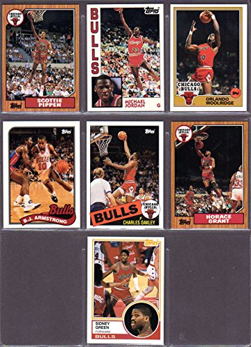 Chicago Bulls 1993 Topps Archives Basketball Team Set (The Missing Years) (Michael Jordan) (Scottie Pippen) (Orlando Woolridge) (BJ Armstrong) (Charles Oakley) (Horace Grant) (Sidney - City Oakley Kansas