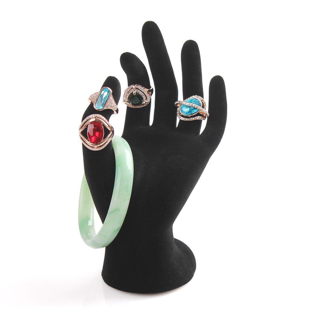 Bocar - Espositore per gioielli a forma di mano, riproduce il gesto dell' OK, per anelli e bracciali Ok-br riproduce il gesto dell' OK
