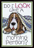 Design Works Morning Dog Counted Cross Stitch Kit by Design Works