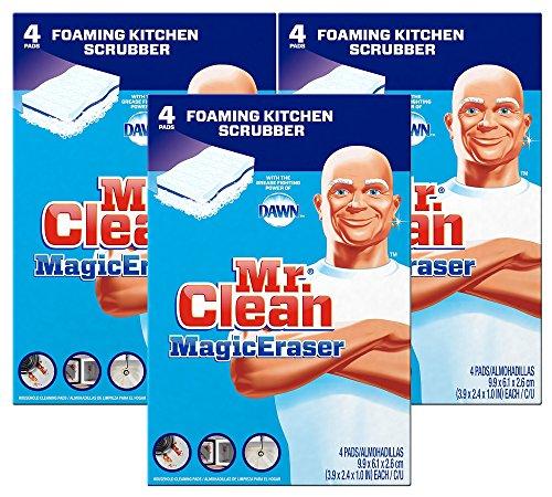 mr clean magic eraser scrubber - 9
