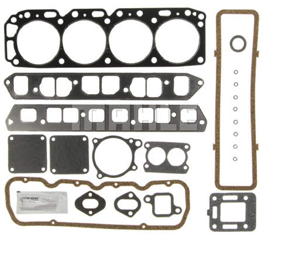 Mercruiser 140 Chevy MARINE 181 3.0 Full Gasket Set Head+Manifold+Oil Pan 1-PC (Marine 3.0L 181cid) by Guardian Engine Kits