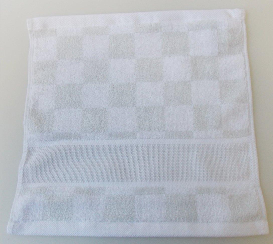 Rico diseño de guante de mano Toalla de ducha con Aida cenefa para bordado en punto de cruz gezählten: Amazon.es: Hogar