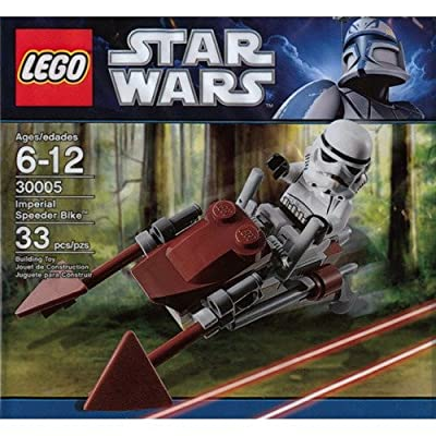 LEGO Mini Imperial Speeder Bike Star Wars Set 30005: Toys & Games