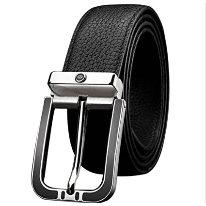 XUEXUE Mens Belt,Business Pin Buckle,Work Active Basic Leather,Casual Formal Belts, Adjustable ,Great for Jeans /& Work Clothes Uniforms Comfortable Color : A, Size : 125