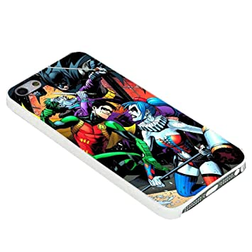 Batman and Robin vs Joker and Harley Quinn for iPhone Case ...