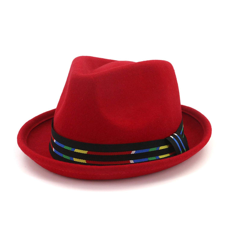 Winter Wool Fedora Hats 2019 Jazz Panama Cap Fedoras Vintage Top Hat Gorro Lana Mujer Woolen Caps Z-6750