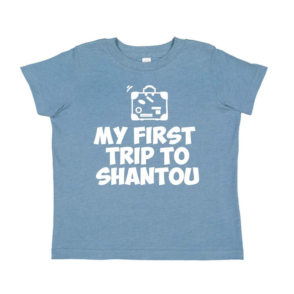 Toddler//Kids Short Sleeve T-Shirt Mashed Clothing My First Trip to Shantou