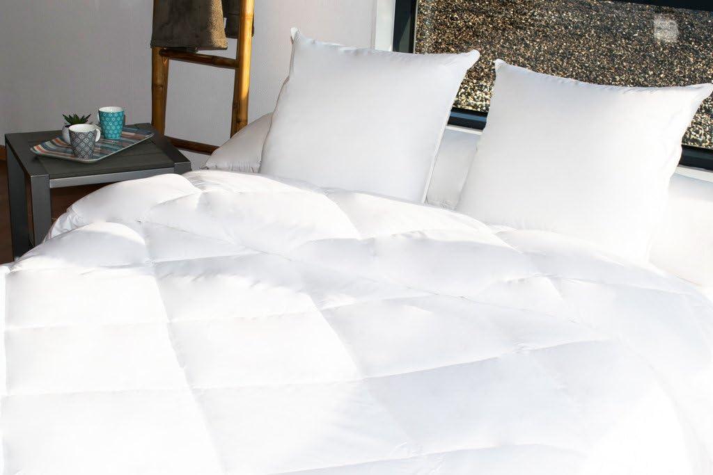 400 GR//m/² Bleu Calin Couette Hoteli/ère Hygiafill Couette Hoteli/ère Hygiafill Blanche, 140 x 200 cm pour lit 1 Place 90 x 190 cm