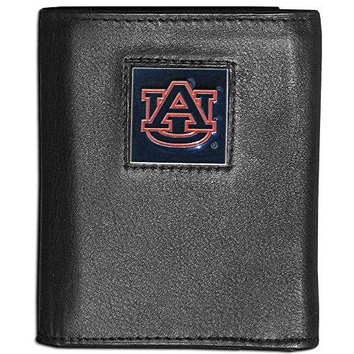 Auburn Tigers Black Leather (NCAA Auburn Tigers Leather Tri-Fold Wallet)
