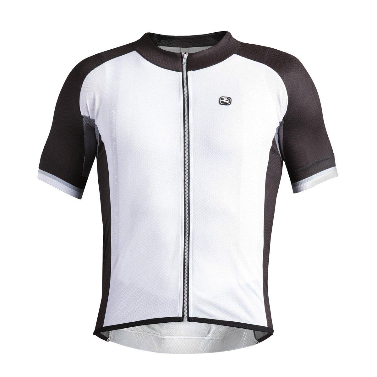 Giordana 2016メンズSilverline半袖サイクリングジャージー – gi-s6-ssjy-silv B079C7CY2J Large|ホワイト/ブラック/グレー ホワイト/ブラック/グレー Large