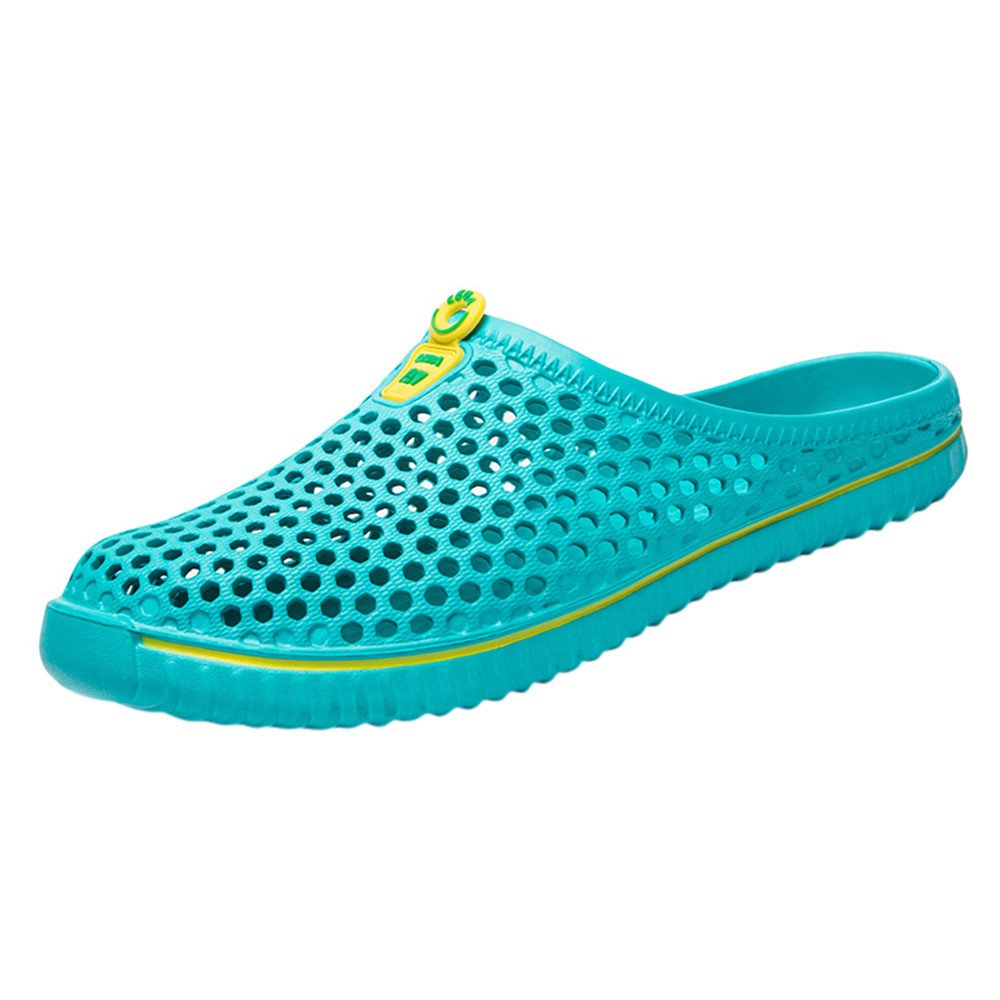 Men's Shower and Poolside Sport Sandal Slip-Ons,WEUIE Beach Summer Slippers Slides Sandals Protective Footwear for Men