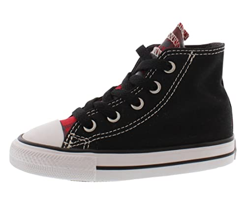 ddd200626b2cd9 Converse Boys Chuck Taylor All Star Party Hi Top Sneaker Shoe   Amazon.co.uk  Shoes   Bags