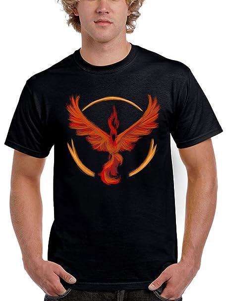 1558-Camiseta Pokemon Go Team Valor (Dr.Monekers): Amazon.es: Ropa y accesorios