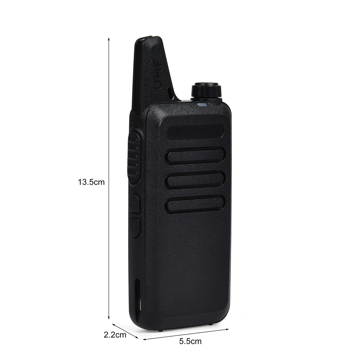 Swiftion Rechargeable Walkie Talkies for Hunting Long Range 2 Way Radio Walky Talky Rechargable Professional interphone for Trave for Police 16 Channel 2 Way Radios with Charger (Pack of 2) by Swiftion (Image #4)