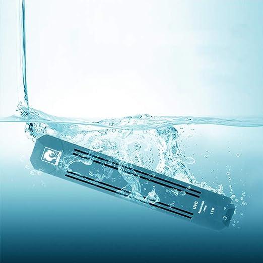 No Acuario Sumergible Lámpara de esterilización UV Estanque de ...