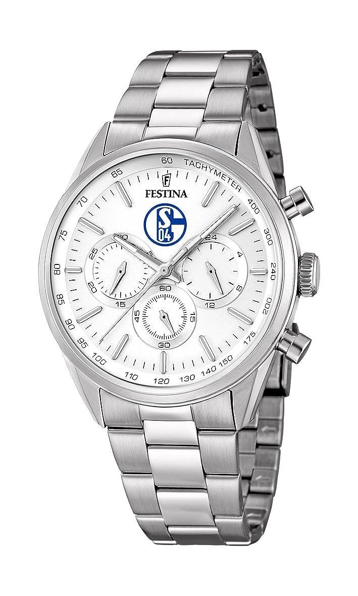 F16820p Quarz Edelstahl Uhr Festina Mit Armband Herren Analog hrotxBsQdC