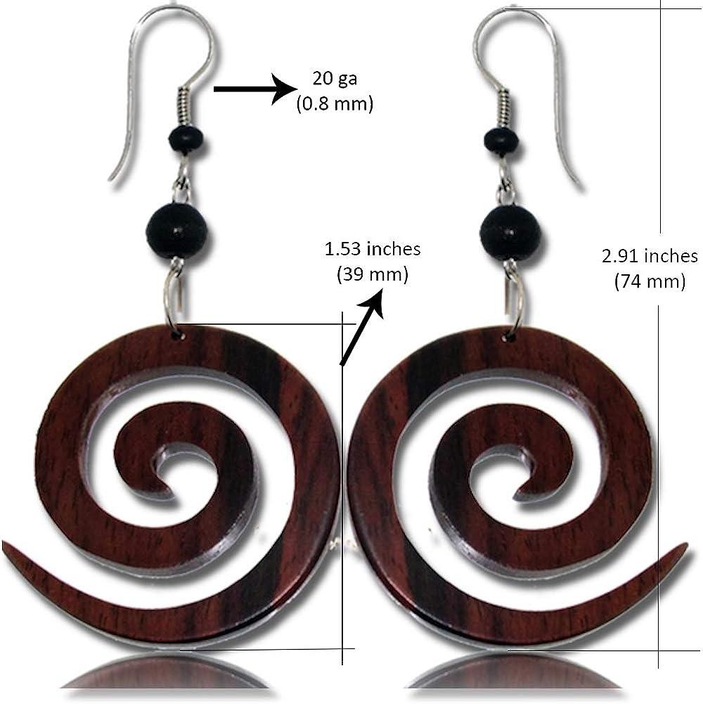 Tribal earring-hoop earring-black bohemian earring-earrings for plugs-filigree earring-ethnic earring-boho earring-antique silver earringb