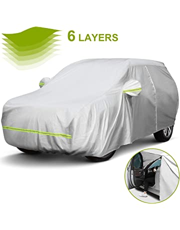 Transpirable Coche Cubierta Completo Protector De Sol Uv Para Nissan Qashqai 2 Plus 2 08-13