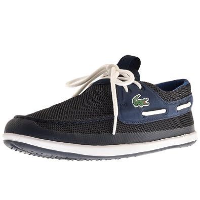 b0c3730c1 Mens Lacoste Landsailing Deck Shoes Navy  Amazon.co.uk  Shoes   Bags
