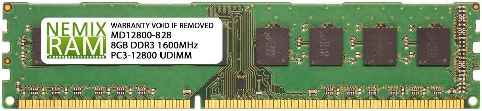 Dell Compatible SNP66GKYC/8G A6994446 8GB NEMIX RAM Memory for XPS Desktops