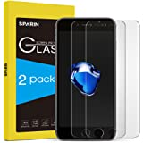 SPARIN iPhone 7 Plus Screen Protector, [2 Pack] [3D Touch Compatible] [Scratch-Resistant] [Ultra Clear] Tempered Glass Screen Protector for Apple iPhone 7 Plus [5.5 inch]