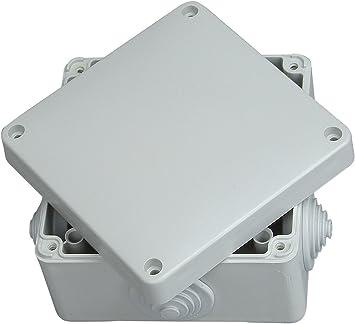 Kopp 351003008 - Caja de Empalme de conexión (a Prueba de Humedad, IP 54/65, 110 x 110 x 67 mm): Amazon.es: Bricolaje y herramientas