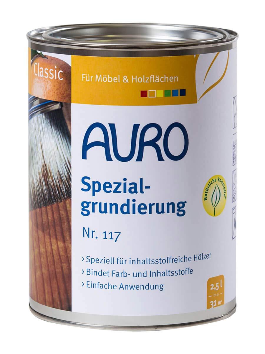 Auro - Primaire Spé cial pour bois 0.75L - N° 117
