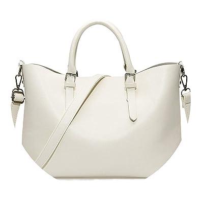 9737fd606a Amazon.com  Bolso Mujer Negro Fashion Hobos Women Bag Ladies Brand Leather  Handbags Spring Casual Tote Bag Big Shoulder Bags