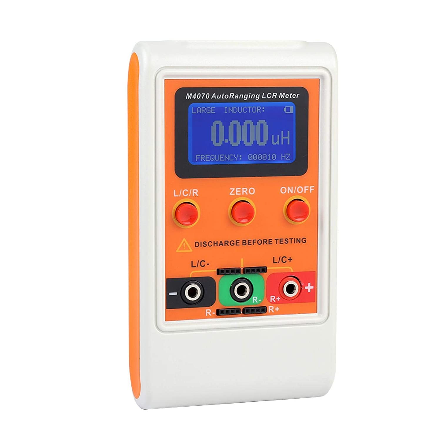 Hand Cranked in Circuit Meter Capacitanc Auto Range Inductance Tester for Industry