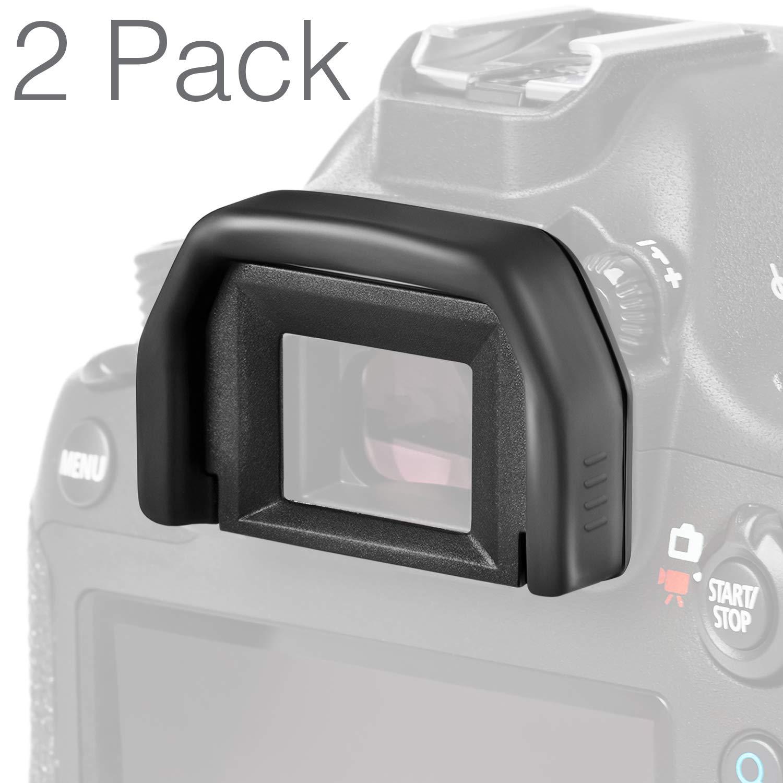 (2 بسته) Altura Photo Eyepiece / Eyecup (جایگزینی Canon EF) برای دوربین های Canon Rebel DSLR