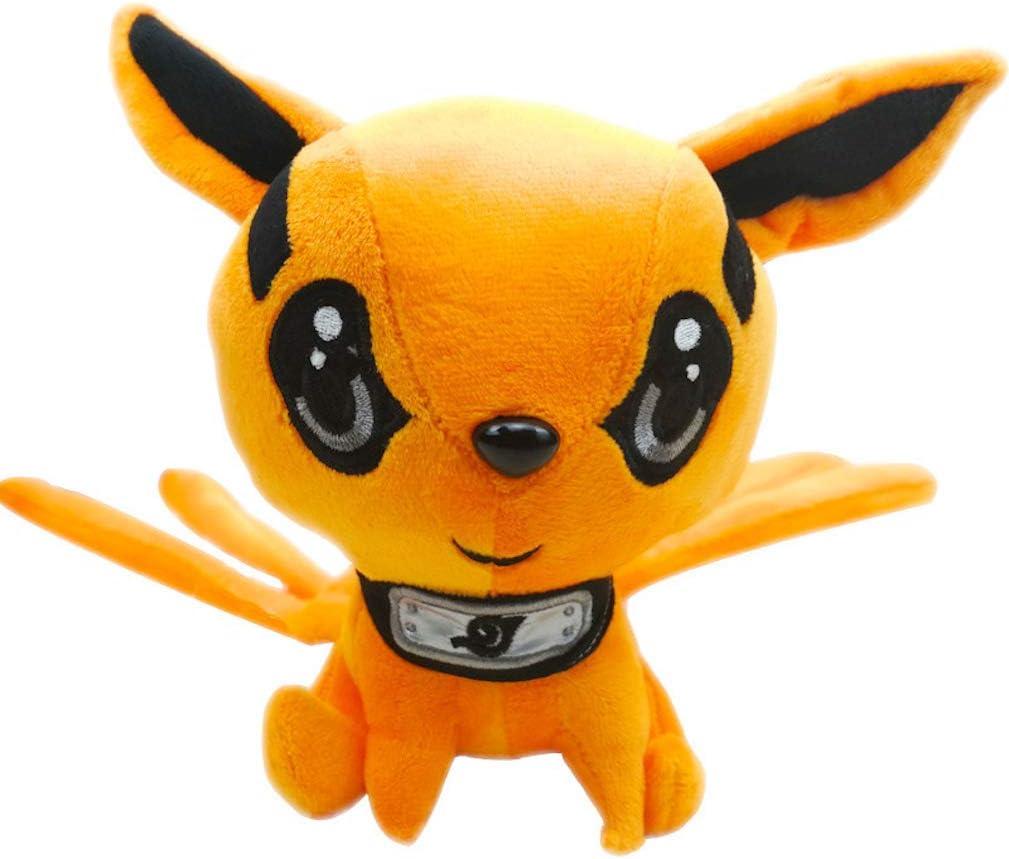 EASTVAPS Naruto Gumiho Muñeca de Peluche de Fox de Nueve Colas Muñeca de Juguete 30 cm