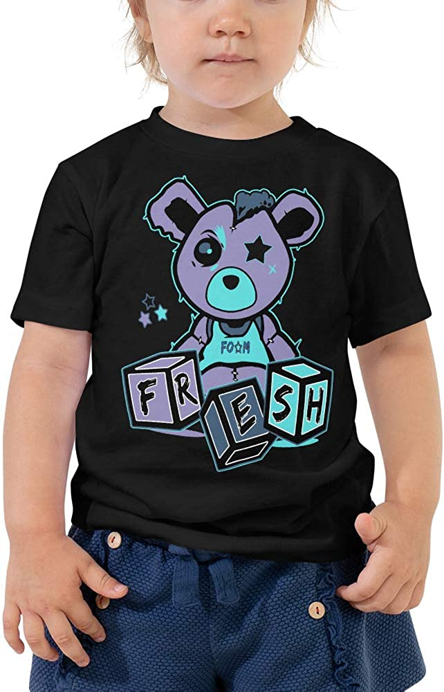 Foam One Abalone Match Toddler Tee Misfit Teddy Shirt Matching Style of Foamposites