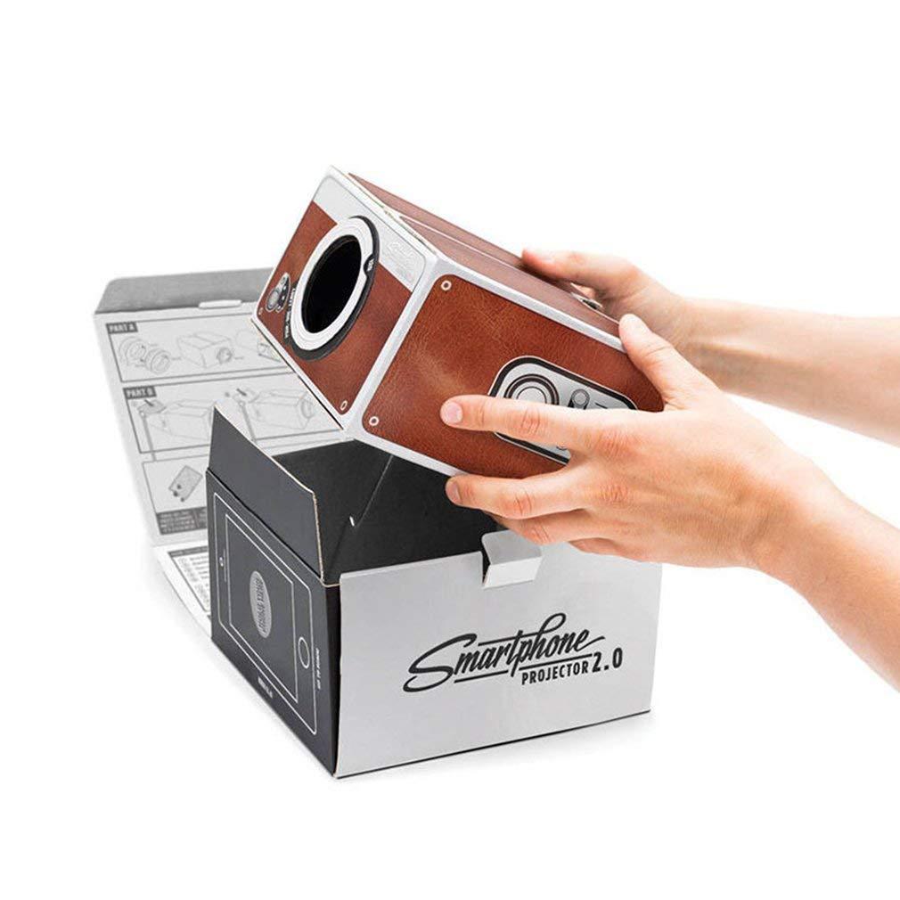 SEN Mini proyector de teléfono Inteligente de cartón portátil para ...
