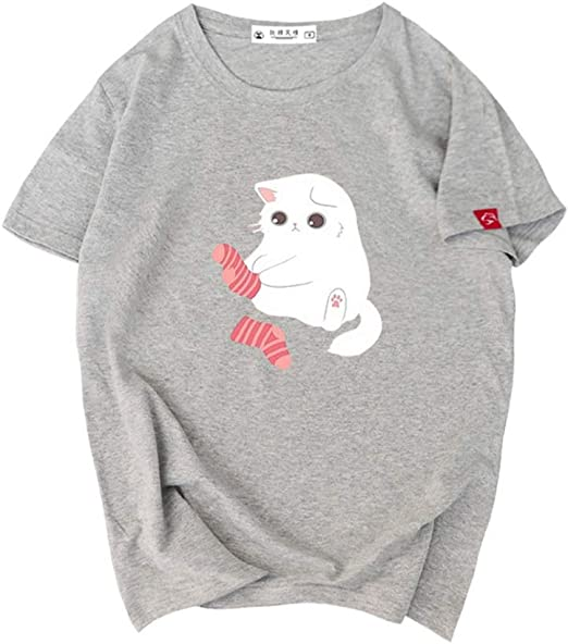 H.ZHOU Camisetas para Hombre 100% algodón TY-042 Verano 3D ...